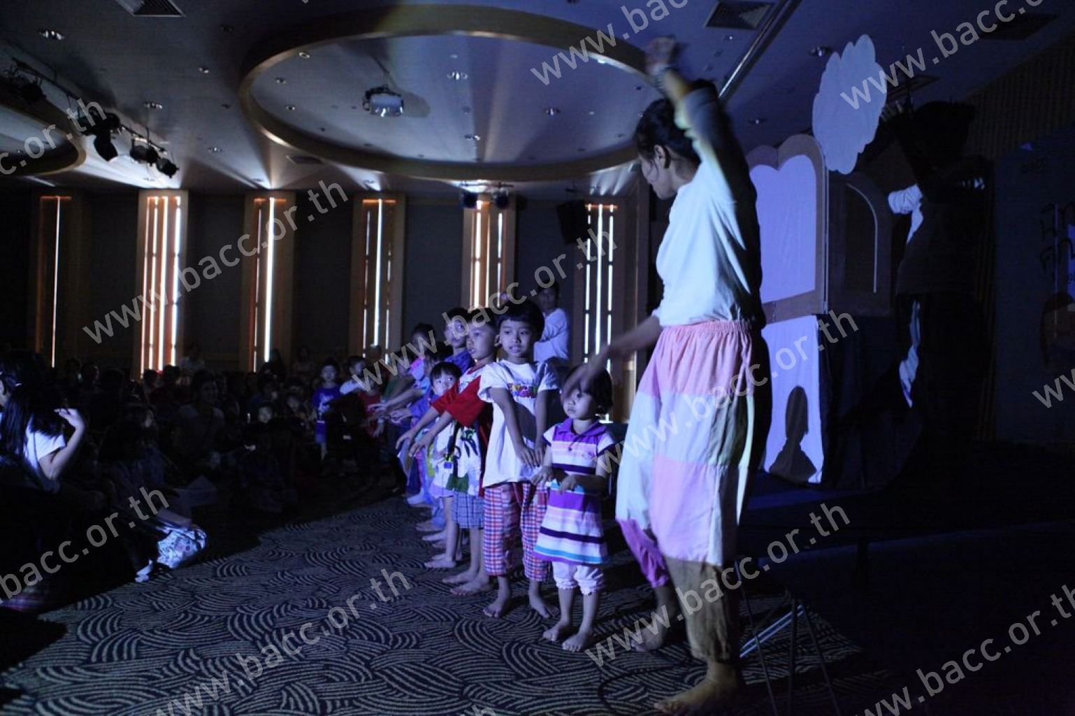 "Storytelling Activity for Kids: Shadow puppet performance ""Nang Doi Ngearn"""